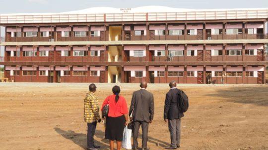 Visite des inspecteurs nationaux du ministère des enseignements secondaires à l'IAO