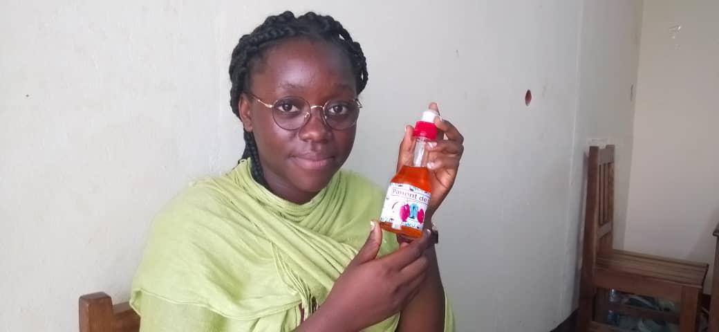 ZOOM: Mlle BETANGA OLOMO Marthe, une étudiante en première année IA