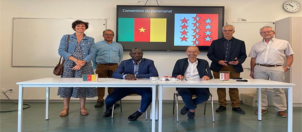 Partenariat Ecole d'Agriculture du Valais (Suisse) et L'IAO